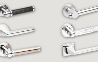 Herrajes San José • Nuevas manijas de aluminio.